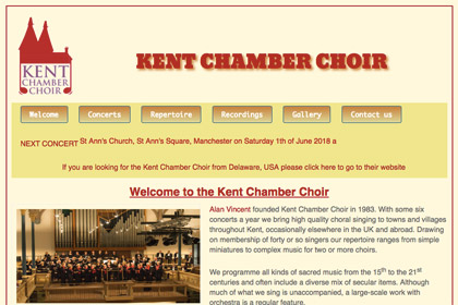 Kent Chamber Choir